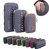 Eono by Amazon - Mikrofaser Handtuch, 8 Farben - kompakt, Ultra leicht & schnelltrocknend...