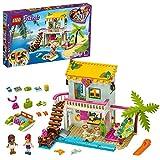 LEGO 41428 Friends Strandhaus mit Tretboot, Spielset mit Andrea und Mia, Sommerferien...