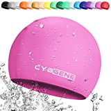 CybGene Silikon Badekappe für Kinder, Kind Schwimmkappe Bademütze für Kinder...