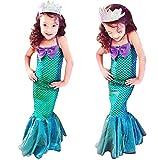 Seawhisper Meerjungfrau Kostüm Kinder Flosse Prinzessin Kostüm Mädchen Kinderkostüm...