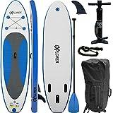 EXPLORER SUP Board Stand Up Paddle Surfboard aufblasbar Paddel ISUP 300x76x15cm
