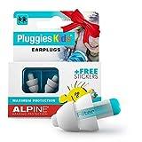 Alpine Pluggies Kinder Gehörschutz Ohrstöpsel - Ohrenstöpsel Für Kind und kleine...