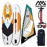 Aqua Marina Blade aufblasbares Windsurf SUP inkl. Segel 330x80x15cm