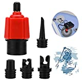 XCOZU SUP Ventil Adapter, SUP Kompressor Adapter, Inflatable Sup Pumpe Adapter/Schrader...