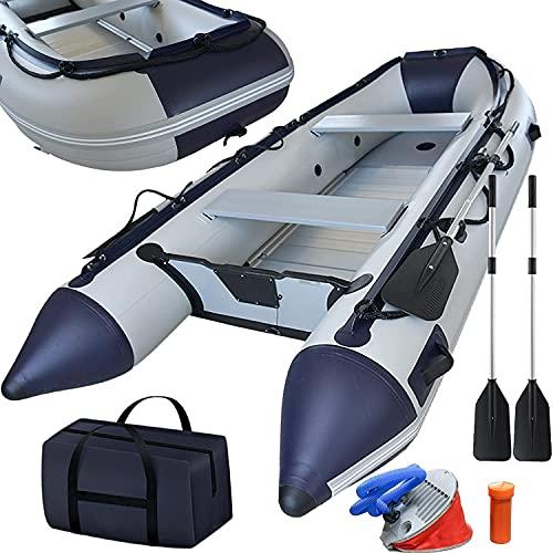 Schlauchboot 3,30 m für 5+1 Personen - 330 x 155 cm, max 566 kg, bis 15 PS, Alupaddel,...