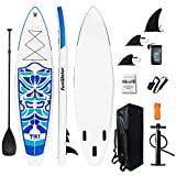 FunWater SUP Aufblasbares Stand Up Paddle Board Ultraleicht (17.6lbs) 320x84x15cm...
