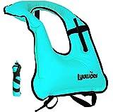 Lyuwpes Aufblasbare Schnorchelweste für Erwachsene, Schnorcheljacke, Tauchen, Schwimmen,...