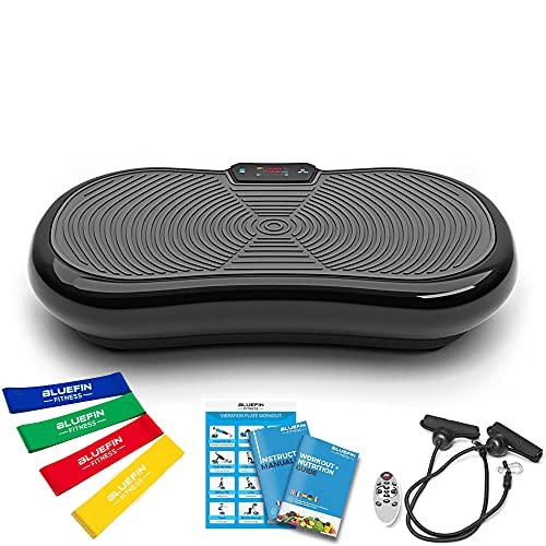 Bluefin Fitness Ultra Slim Power Vibrationsplatte   Fett verlieren und Fitnesstraining von...