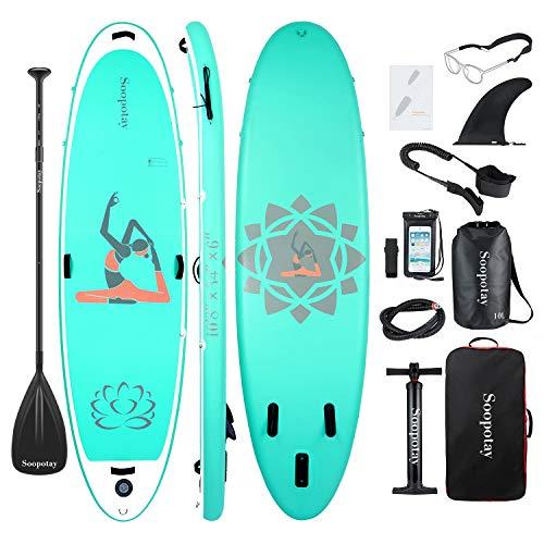 BATURU aufblasbares SUP Board, Stand-up Paddle Board, Sup Paddleboard 325 x 86 x 15...