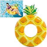 Intex 56266 Luftmatratze Schwimmreifen aufblasbar 'Pineapple' 117 x 86 cm
