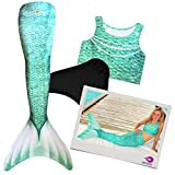 MEERJUNGFRAUEN SHOP AT Meerjungfrau Flosse zum Schwimmen für Kinder Meerjungfrauenflosse...
