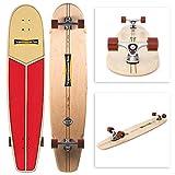 Hamboards Huntington Hop 'Lifeguard' Handarbeit Longboard Skateboard für landsurfing &...