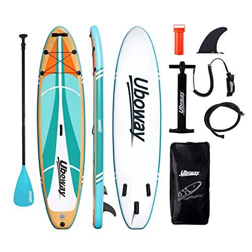Signstek Stand Up Paddling Board Aufblasbares SUP Board Set Aufblasbar 305 * 80 * 15 cm...