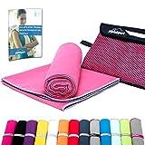 Mikrofaser Handtuch Set - Microfaser Handtücher für Sauna, Fitness, Sport I Strandtuch, Sporthandtuch I 1x...