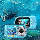 Unterwasserkamera, Foto Kamera Digital 1080P FHD 16-Facher Digitalzoom Videorecorder...
