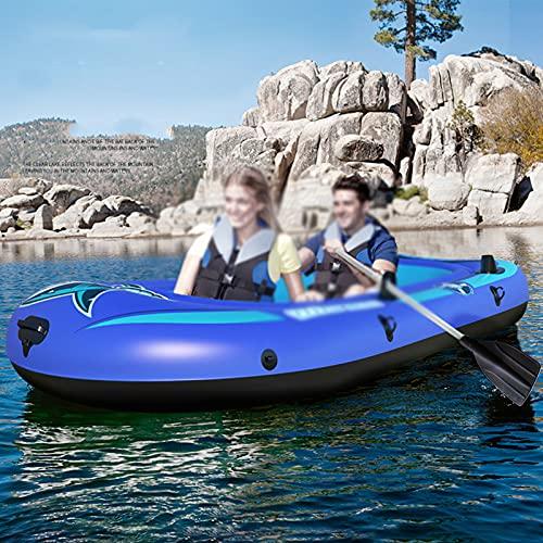 PZJ-Aufblasbare Flöße für Erwachsene 5 Personen, Schlauchboot für Kinder, Angelboote,...
