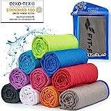 Cooling Towel für Sport & Fitness – Mikrofaser Handtuch/Kühltuch als kühlendes Handtuch für Laufen,...