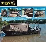 Black Cat Special Boat Cave II 335x220x105cm - Bootszelt, Angelzelt zur Montage auf...
