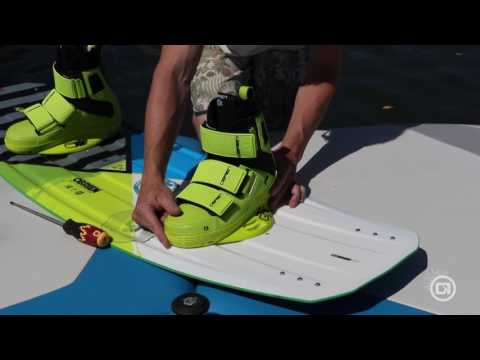 How To Set Your Wakeboard Stance