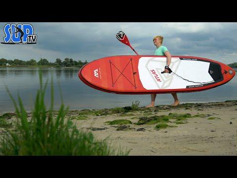 """Aqua Marina ATLAS 12'0"""" im Test: Das perfekte SUP-Board für Familien?"""
