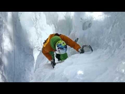 Eisklettern für Einsteiger