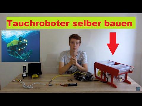 RC Tauchroboter selber bauen Teil1 [DE/HD]