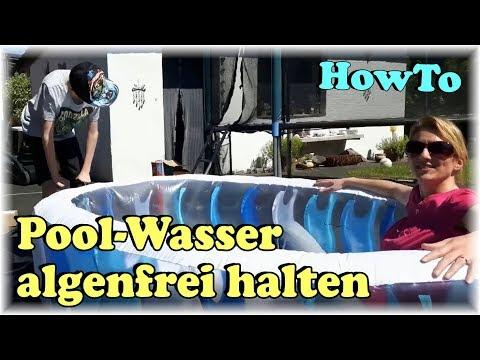 How To 👍 So bleibt das Wasser im Planschbecken / Pool länger sauber, algenfrei & warm