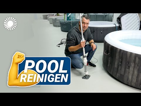 Bestway Lay-Z-Spa Poolsauger Anleitung mit Akku 🌊 Einfach Pools reinigen! | Hertie