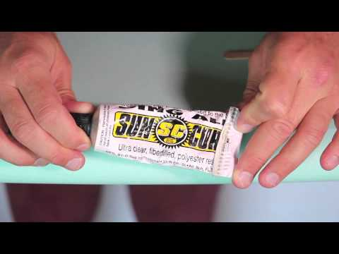 Surfboard Ding Repair: How to Fix A Surfboard Ding no.62   Compare Surfboards