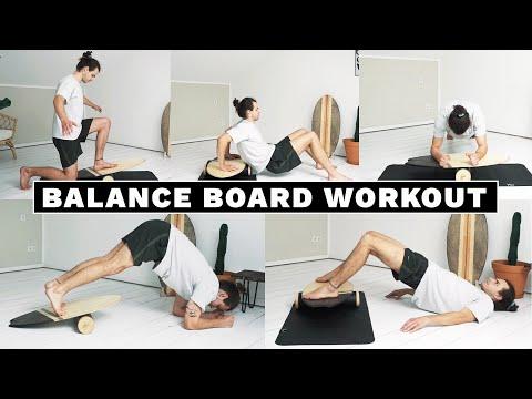 Balance Board Home Workout - 15 Übungen für ein Ganzkörper Training zuhause