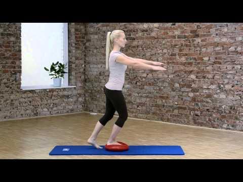 Sissel Balancefit Balancekissen - Anwendungsbeispiel