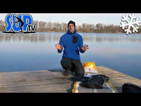 Kaltes Wasser - die tödliche Gefahr beim Stand Up Paddling! // Kältereaktionen ⛄ #WinterSUP