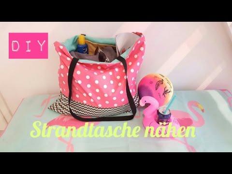 DIY Strandtasche/Beach Bag selber nähen|DIY Kajuete