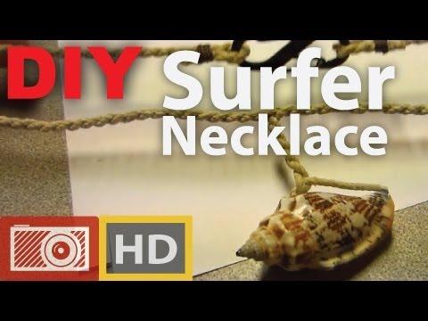 DIY Surfer Necklace