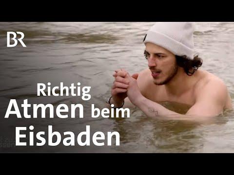 Atemtechniken: Richtig atmen beim Eisbaden | Sport | Gut zu wissen | BR