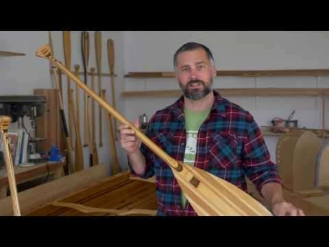 How to fix a Wooden Canoe Paddle