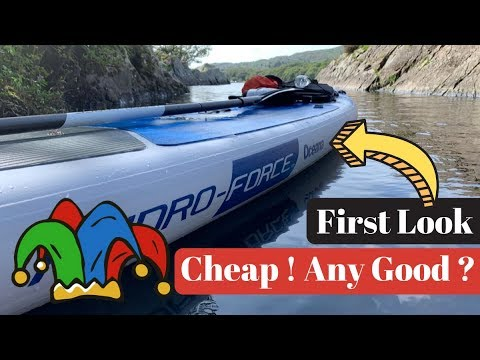 Bestway Hydro-Force Oceana Paddle Board First Look & Thoughts