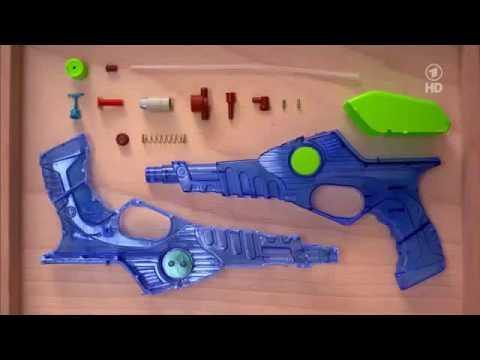 Wie funktioniert eine Wasserpistole?