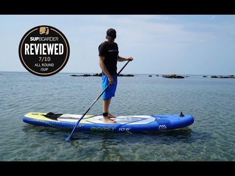 Aqua Marina Beast 10'6'' all round iSUP review
