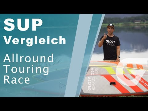 Stand up Paddle Board Typen im Vergleich / Allround Touring Race iSUP