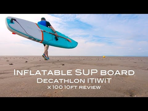 Inflatable stand up paddle board   SUP   Decathlon ITIWIT