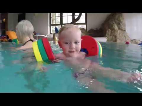 Schwimmen mit den Schwimmscheiben