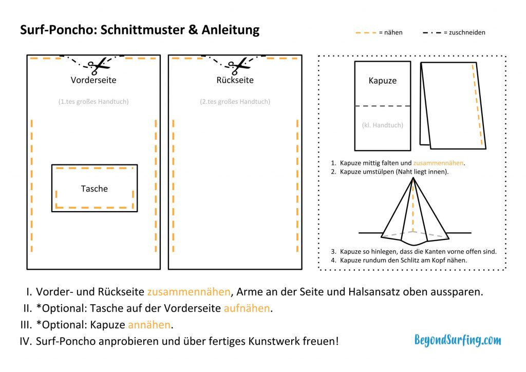 surf-poncho-schnittmuster-anleitung