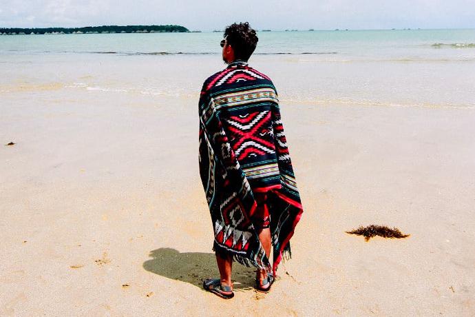 strandumhang frottee umkleiden